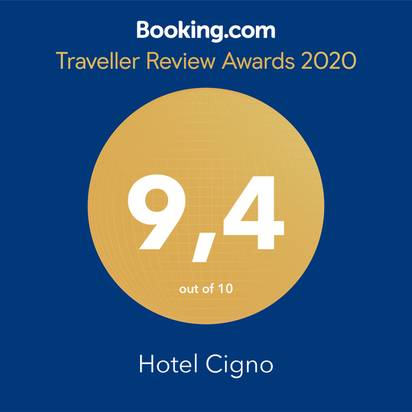 Hotel Cigno Booking Award 2020