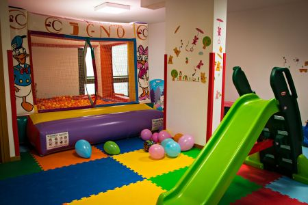 The room for parties and birthdays